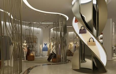 女装服饰专卖店装修设计案例