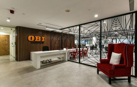 德国欧倍德公司办公室装修工程